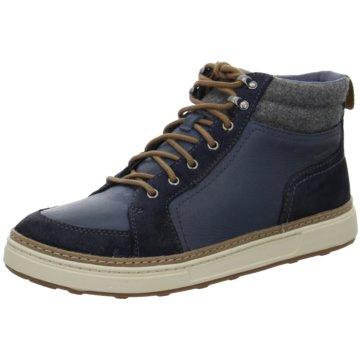 Clarks Sneaker High blau
