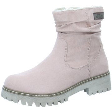 s.Oliver Plateau Stiefelette rosa