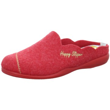 Happy Slipper Hausschuh rot