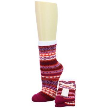 Camano Socken / Strümpfe rot