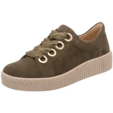 Gabor Sneaker Low oliv