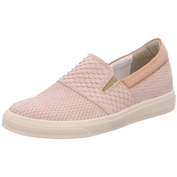 MACA Modische Slipper beige