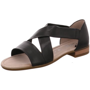Gabor comfort Komfort Sandale schwarz