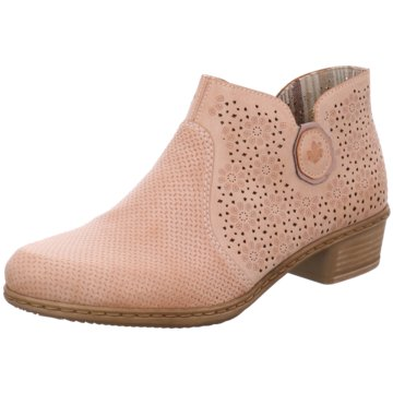 Rieker Ankle Boot rosa