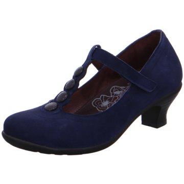 Brako Komfort Pumps blau