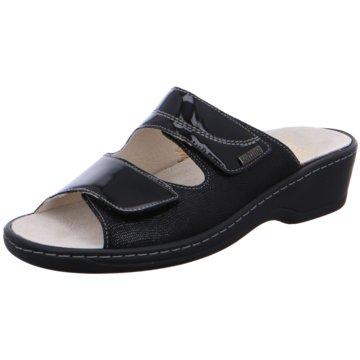 Fidelio Komfort Pantolette schwarz