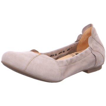 Think Faltbarer Ballerina beige