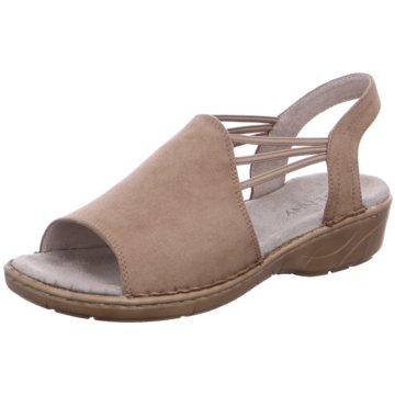 Jenny Komfort Sandale beige