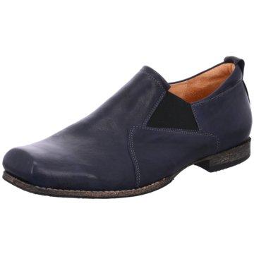Think Klassischer Slipper blau