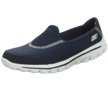 Skechers - Slipper Halbschuh Go Walk 2 -  blau