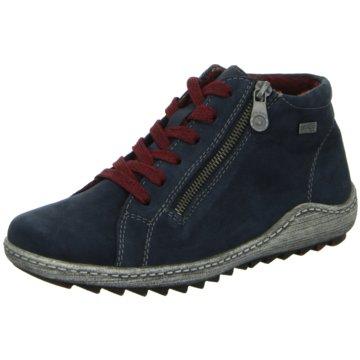 Remonte Sneaker High blau