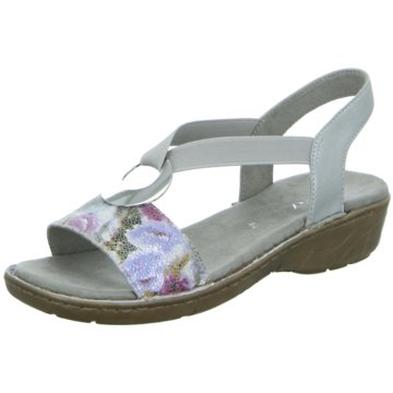 Jenny Komfort Sandale silber
