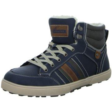 Living Updated Sneaker High blau