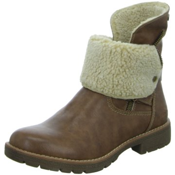 Tom Tailor Winterboot braun