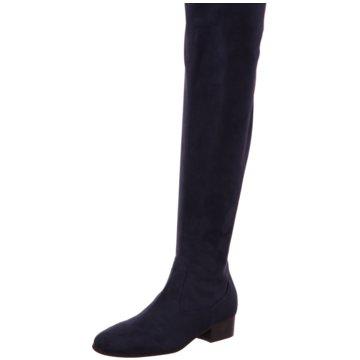 Lamica Overknee Stiefel blau