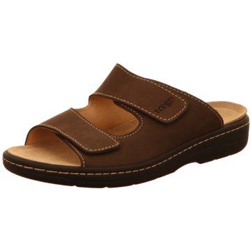 Longo Komfort Sandale braun