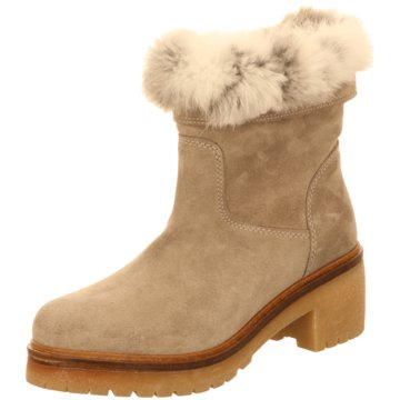 Alpe Woman Shoes Winterboot beige