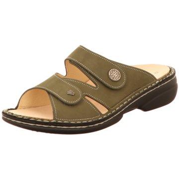 FinnComfort Komfort Pantolette oliv