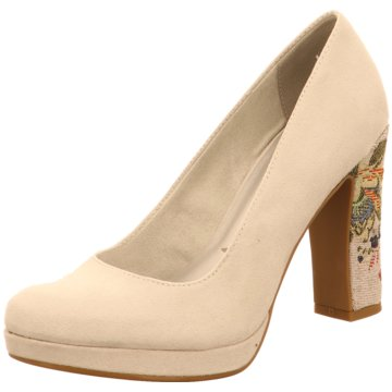 Tamaris Pumps beige