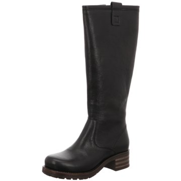 Brako Plateau Stiefel schwarz
