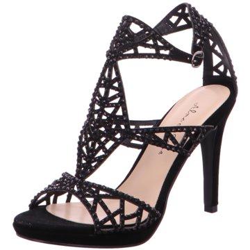 Alma en Pena Modische High Heels schwarz