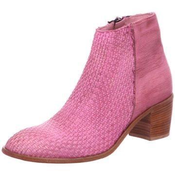 Schuhmann's Handwerkskultur Klassische Stiefelette pink