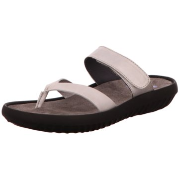 Wolky Komfort Sandale silber