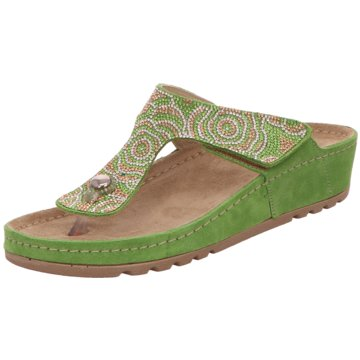 Rohde Komfort Pantolette grün