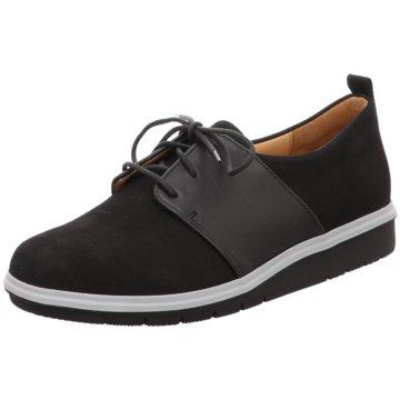 Ganter Klassischer Schnürschuh schwarz