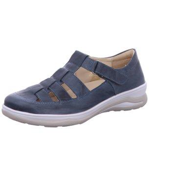 Fidelio Komfort Slipper blau