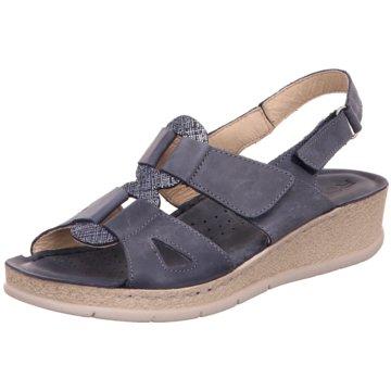 Rohde Komfort Sandale blau