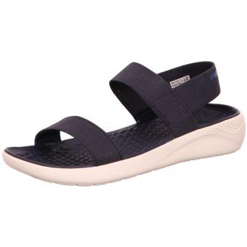 CROCS Komfort Sandale blau