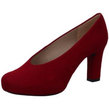 Unisa Modische High Heels rot