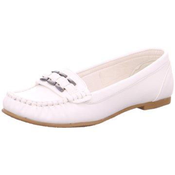 Hengst Footwear Mokassin Slipper weiß