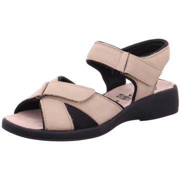 Aco Komfort Sandale beige