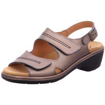 Aco Komfort Sandale braun