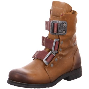 Fly London Biker Boot braun