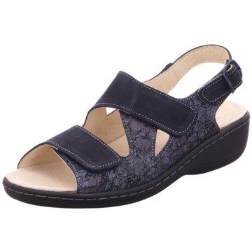 Belvida Komfort Sandale blau