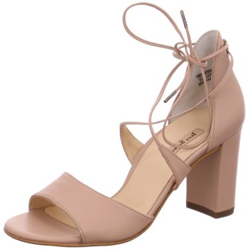Paul Green Riemchenpumps rosa