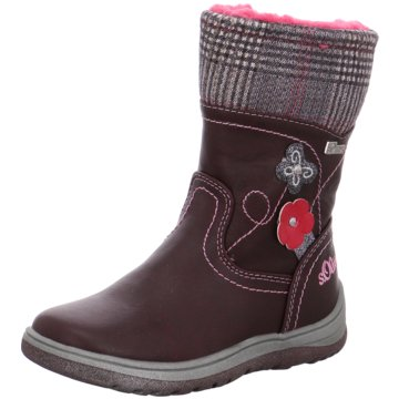 s.Oliver Hoher Stiefel rot