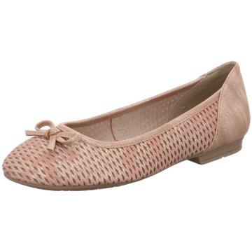 Jana Klassischer Ballerina rot