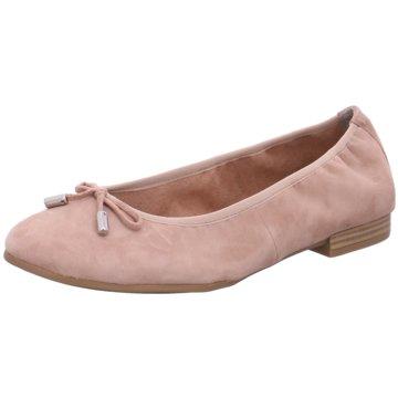 s.Oliver Klassischer Ballerina rosa
