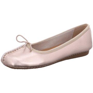 Clarks Klassischer Ballerina rosa