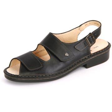 FinnComfort Komfort Sandale schwarz