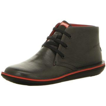 Camper Komfort Stiefel schwarz