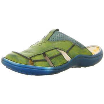 KRISBUT Komfort Slipper grün