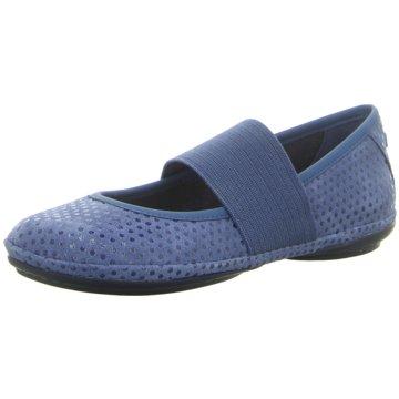 Camper Komfort Slipper blau