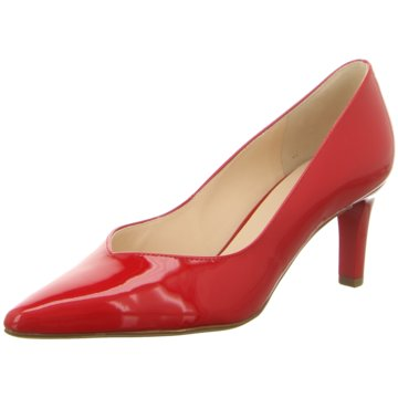 Högl Modische Pumps rot