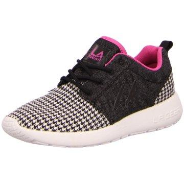 L.A. Gear Sneaker Low schwarz