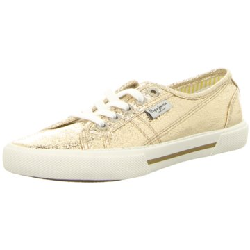 Pepe Jeans Sneaker Low gold